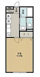 SAKASU AZABU[104号室]の間取り