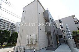 東京都調布市柴崎2丁目の賃貸アパートの外観