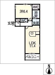 Famille[2階]の間取り