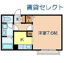 Keiyo Hills[102号室]の間取り