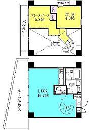 ユニーブル西宮[5階]の間取り