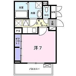 フレグランス中央[3階]の間取り