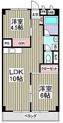 埼玉県さいたま市緑区東浦和7丁目の賃貸マンションの間取り