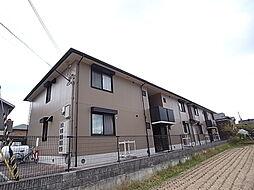 兵庫県姫路市勝原区下太田の賃貸アパートの外観