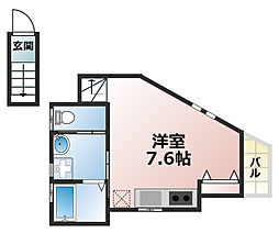 Lien de Kamimae[2階]の間取り