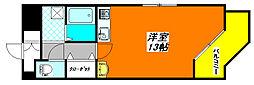 ブルーメン・ハウス501号室[5階]の間取り