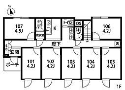大泉学園II[205号室]の間取り