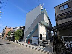 愛知県名古屋市中村区上石川町1丁目の賃貸アパートの外観