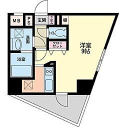 パシフィックレジデンス神戸八幡通[0201号室]の間取り
