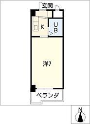 DOLL堀田I[6階]の間取り