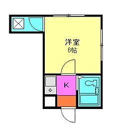 フロムファースト[2階]の間取り