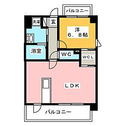 箱崎なつめビル[2階]の間取り