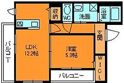 シャーメゾン ラピュタ[3階]の間取り