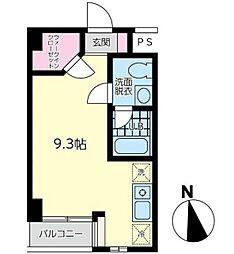 神奈川県横浜市中区元町3丁目の賃貸マンションの間取り