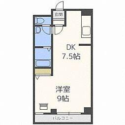 琴似1・6マンション[7階]の間取り