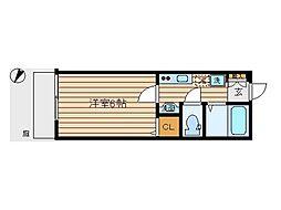 東京都品川区西大井4丁目の賃貸マンションの間取り