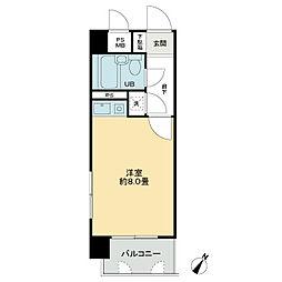 ライオンズマンション西霞町第2[4階]の間取り