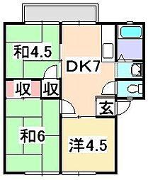 シティパルSai[1階]の間取り