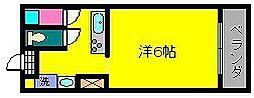 コーポIBUSUKI3[2階]の間取り