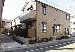 東京都練馬区中村南3丁目の賃貸アパートの外観