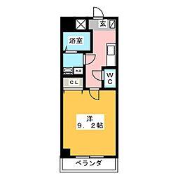 ヴィガラス永田町[2階]の間取り