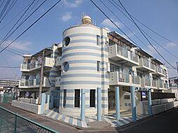埼玉県川口市芝園町の賃貸マンションの外観