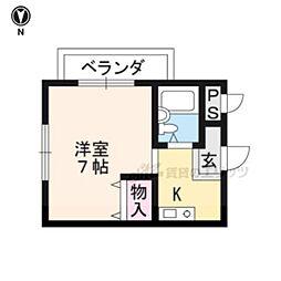 龍谷大前深草駅 3.3万円