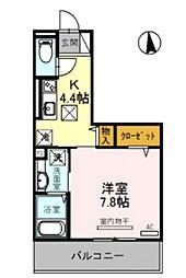 仮称)竹田向代町D-room[301号室号室]の間取り