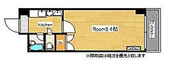 ロイヤルプレサージュ[6階]の間取り