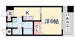 長澤文具ビル[8階]の間取り
