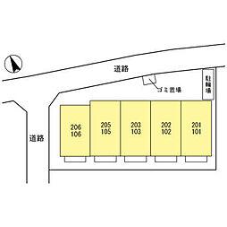 (仮)円正寺ルピナ[205号室]の外観