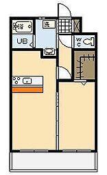 (新築)別府町マンション[201号室]の間取り