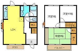 [テラスハウス] 兵庫県加古川市平岡町一色 の賃貸【/】の間取り