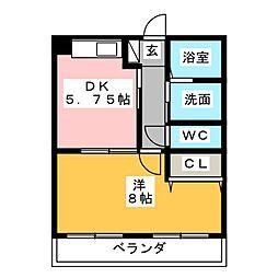 第一螺貝ビル[1階]の間取り