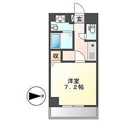 ラフォーレ千種[7階]の間取り