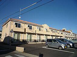 茨城県日立市鮎川町6丁目の賃貸アパートの外観
