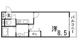 シェリル板宿[1階]の間取り