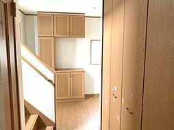 居室以外も収納充実かさばる荷物もすっきり収納できます