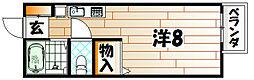 アメニティ高須[206号室]の間取り
