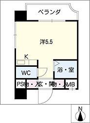 フォトリエモリ[6階]の間取り