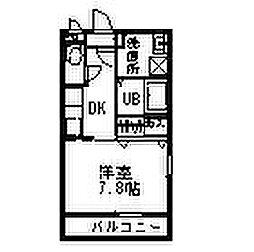 MOSガーデンII[0103号室]の間取り