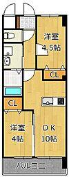 メディプラカーサ[3階]の間取り