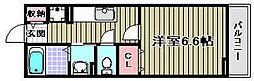 シャロル2[202号室]の間取り