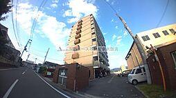 大阪府東大阪市新庄西の賃貸マンションの外観