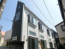 東京都練馬区富士見台2丁目の賃貸アパートの外観