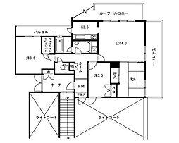 福岡県福岡市早良区百道浜4丁目の賃貸マンションの間取り