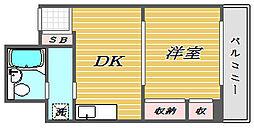 埼玉県戸田市上戸田1丁目の賃貸マンションの間取り