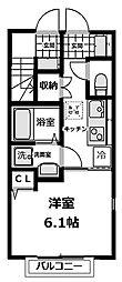 旭区西川島町 エスペラントI103号室[1階]の間取り