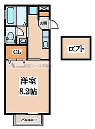 DACハウス´98[2階]の間取り