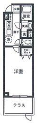 THE FUSION NAKANOFUJIMICHOU[1階]の間取り